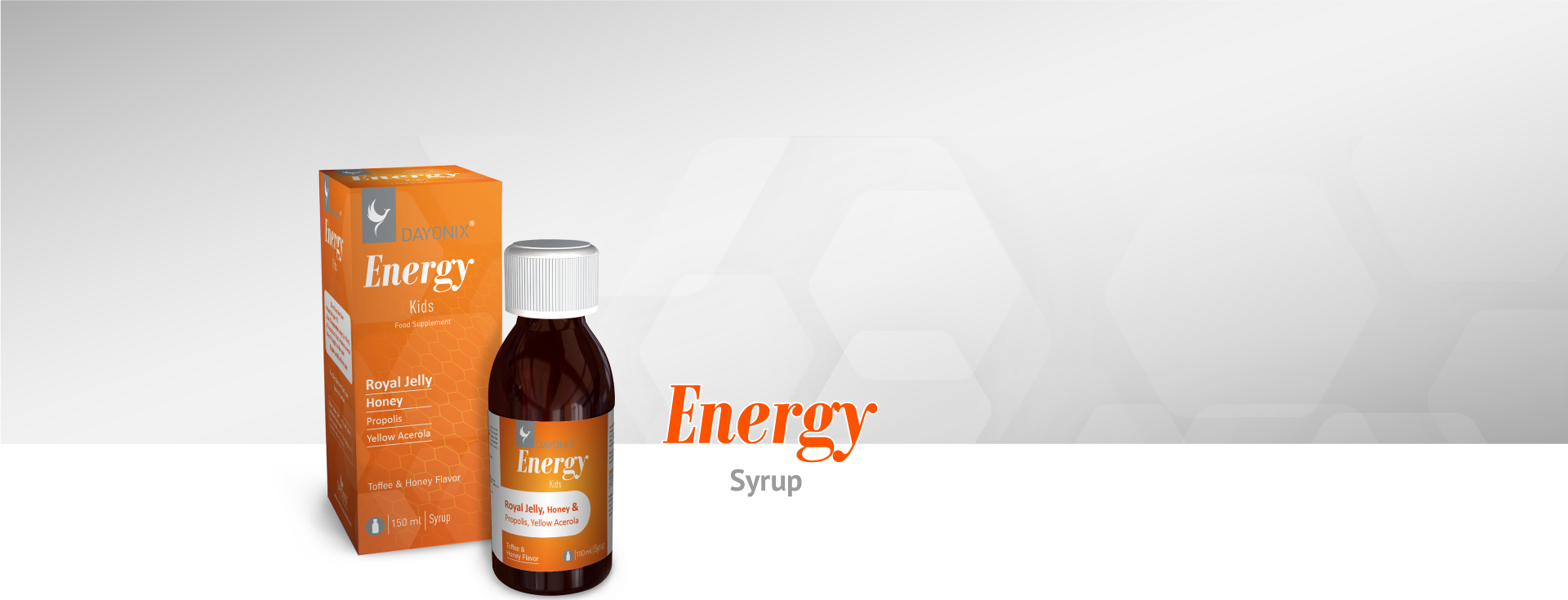 Dayonix Energy Kids Syrup
